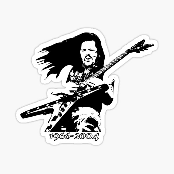 Dimebag 1966-2004 Sticker