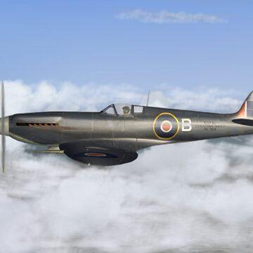 Seafire Mk XV by Skyviper