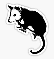 Possum Opossum Sticker