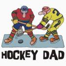 Hockey Dad by SportsT-Shirts