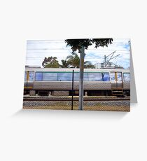 Train Three Greeting Card