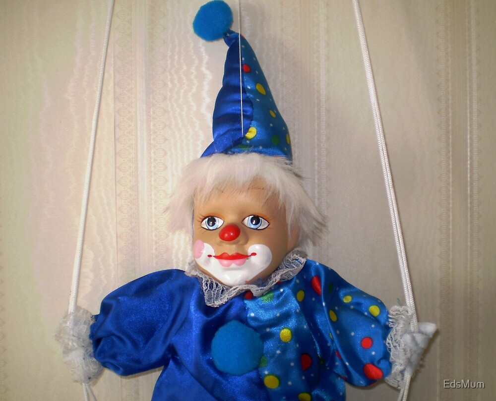 Clown in a swing by EdsMum
