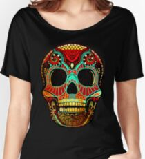 Grunge Skull No.2 Women's Relaxed Fit T-Shirt