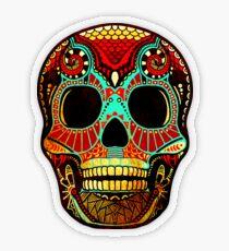 Grunge Skull No.2 Transparenter Sticker