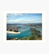 Pauanui Views, Coromandel Peninsula, New Zealand Art Print