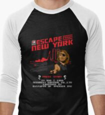 8-Bit Eyepatch   Men's Baseball ¾ T-Shirt