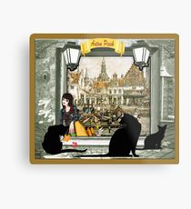November - Canals in old Amsterdam Metal Print
