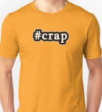 Crap - Hashtag - Black & White T-Shirt