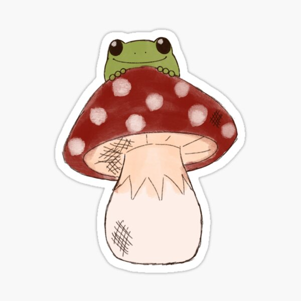 Toadstool  Sticker