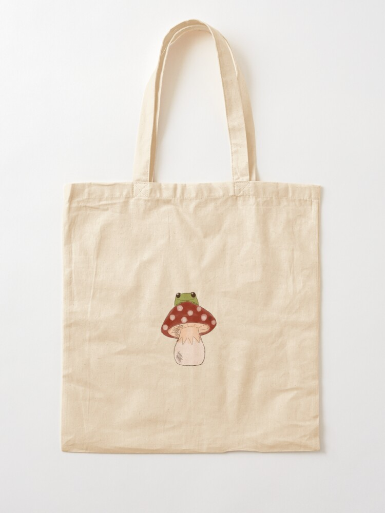 Alternate view of Toadstool  Tote Bag