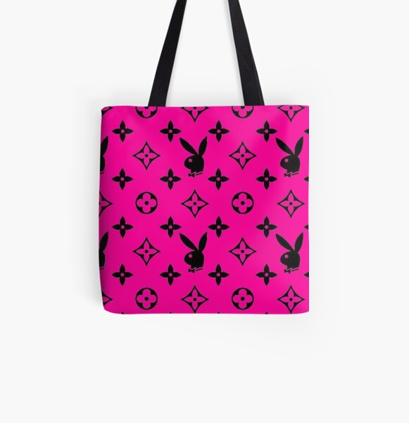 Y2k 90s Bunny Pink Aesthetic Tote Bags | Redbubble