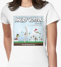 Angry Voters Women's Fitted T-Shirt