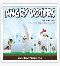 Angry Voters Sticker