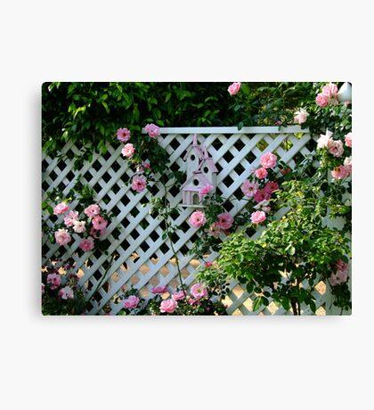 Rosalee Cottage Garden Canvas Print