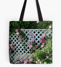 Rosalee Cottage Garden Tote Bag
