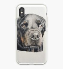 Max the beautiful Rottweiler iPhone Case