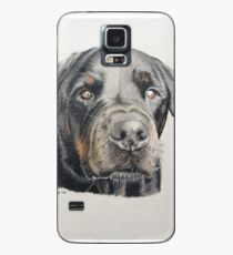 Max the beautiful Rottweiler Case/Skin for Samsung Galaxy