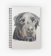 Max the beautiful Rottweiler Spiral Notebook