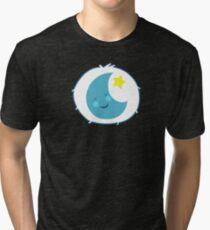 Bedtime Bear - Carebears - cartoon logo Tri-blend T-Shirt