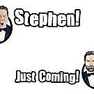 Adam and Joe: Stephen Card! by StevePaulMyers