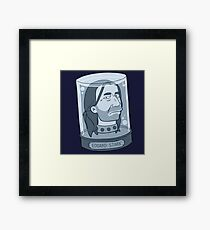 Brace Yourself Framed Print