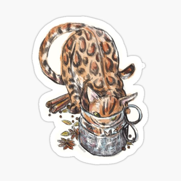 Chai Cat Sticker