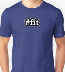Fit - Hashtag - Black & White T-Shirt