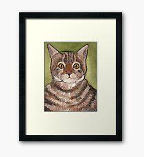 Bill the cat Framed Print