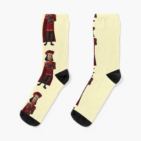 Lord Farquaad Socks