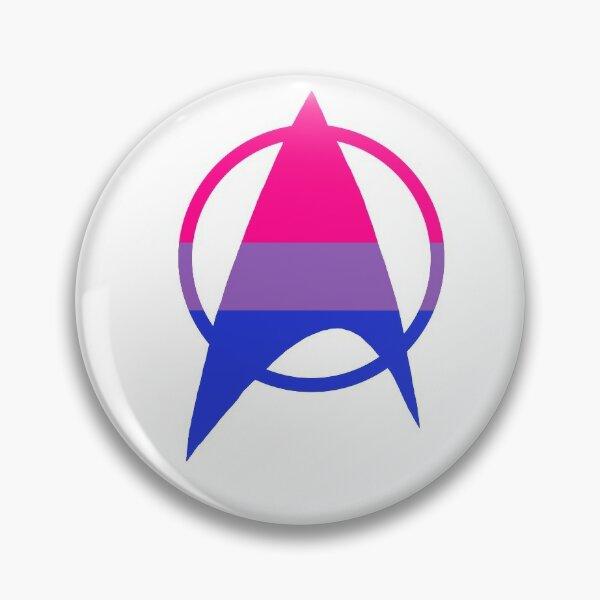 Bisexual Starfleet Pride Pin