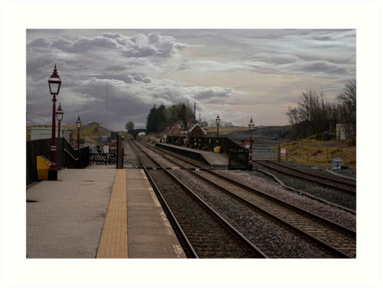 Countryside Station by Trevor Kersley