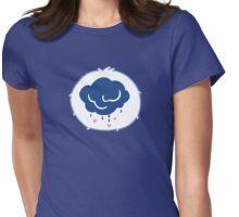 Grumpy Bear - Carebears - cartoon logo Womens Fitted T-Shirt