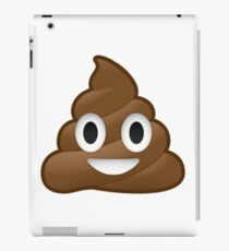Smiling Poop Emoji iPad Case/Skin