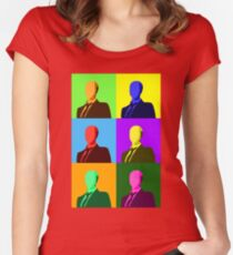 Slendy Warhol Women's Fitted Scoop T-Shirt