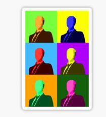 Slendy Warhol Sticker