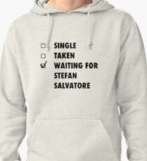 Waiting for Stefan Salvatore Pullover Hoodie