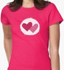 Care-a-lot Bear - Carebears - Cartoon Logo Womens Fitted T-Shirt