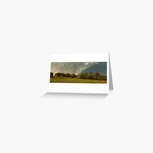 Mt Eccles farm, South Gippsland - December 2011 Greeting Card
