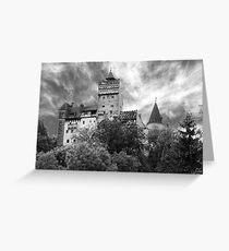 Castle Dracula Greeting Card