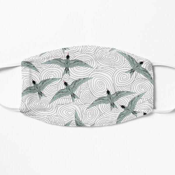 Arctic Terns Flat Mask