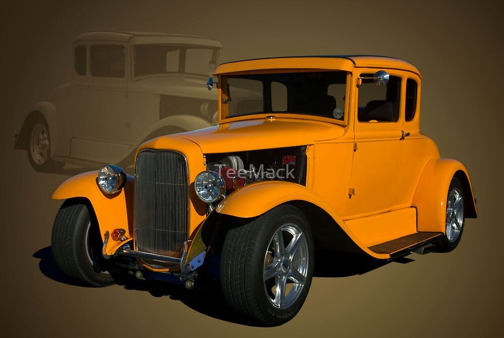 1930 Ford Hot Rod coupe by TeeMack