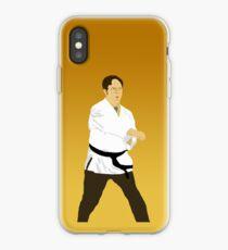 Dwight Kata - Farbverlauf iPhone-Hülle & Cover