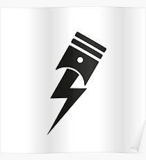 Bolt Piston Poster