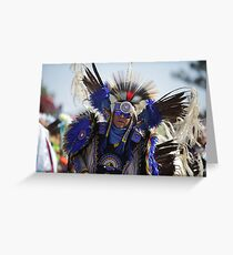 San Manuel Indian Pow Wow 2012 Greeting Card