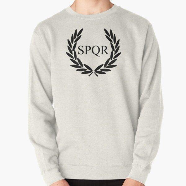 Camp Jupiter - Black Logo Pullover Sweatshirt