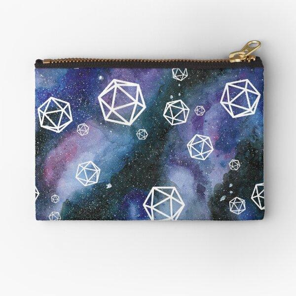 dice in space Zipper Pouch