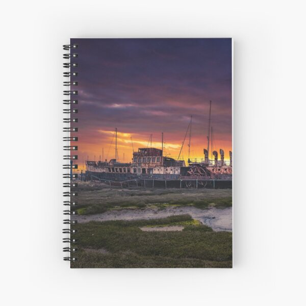 PS Ryde Queen Sunrise Spiral Notebook