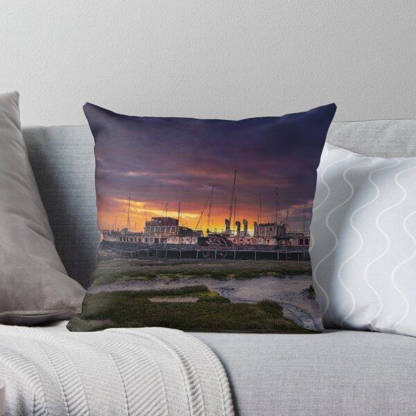 PS Ryde Queen Sunrise Throw Pillow