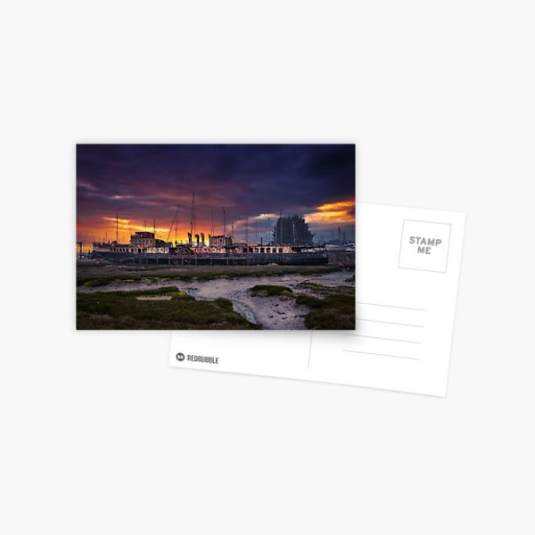 PS Ryde Queen Sunrise Postcard