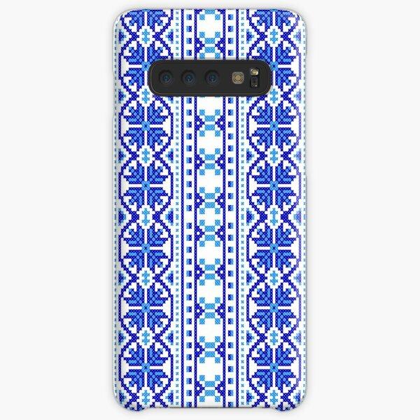 #UkrainianFolkCostumePattern #ukrainianfolk #costumepattern #ukrainian #folk #costume #pattern #decoration #ornate #abstract #textile #creativity #fashion #repetition #vertical #colorimage #retrostyle Samsung Galaxy Snap Case